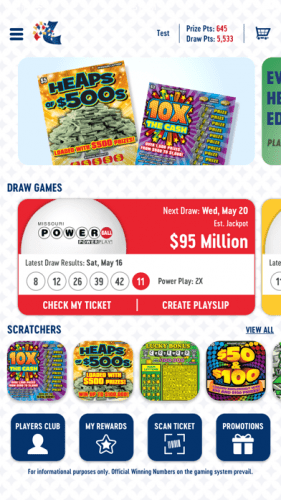 Missouri Lottery Official App 0