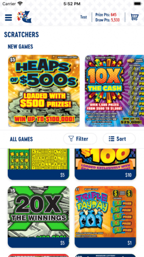 Missouri Lottery Official App 2